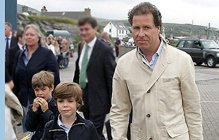 Prinsessan Margarets son utpekad i sex-och knarksskandal