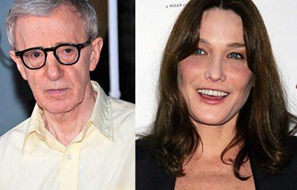 Carla Bruni – Woody Allens nya stjärnskott