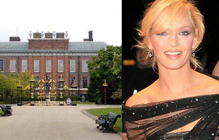 Uma Thurman gifter sig <br> i prinsessan Dianas hem