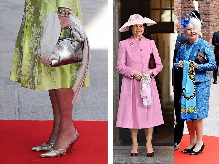 Sno stilen: Kungligheternas val av sjal inspirerar