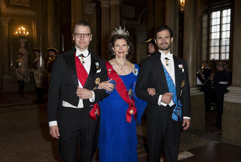 22 bilder från kungens stora fest på slottet