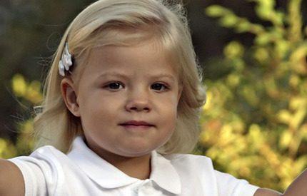 Söta prinsessan Sofia har blivit stora damen