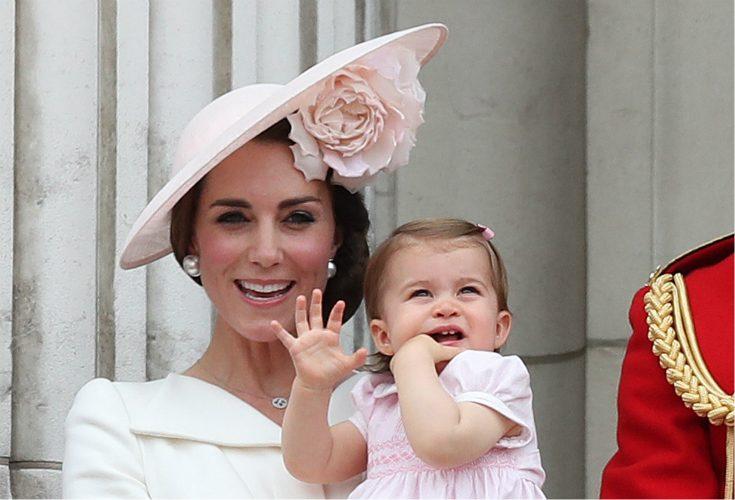 Här gör prinsessan Charlotte debut på slottet