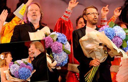35 000 ABBA-fans hyllade Björn och Benny