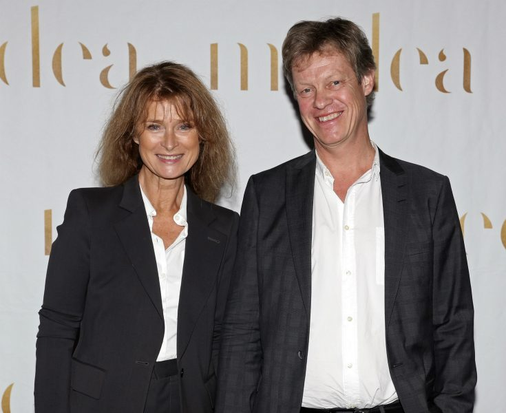 Lena Endre har gift sig - höll hemligt Riviera-bröllop