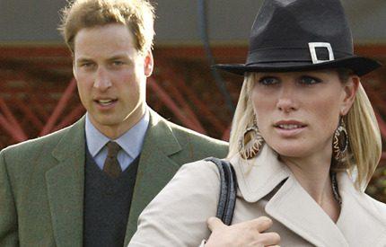 Prins William står i vägen för kusin Zara Phillips bröllop