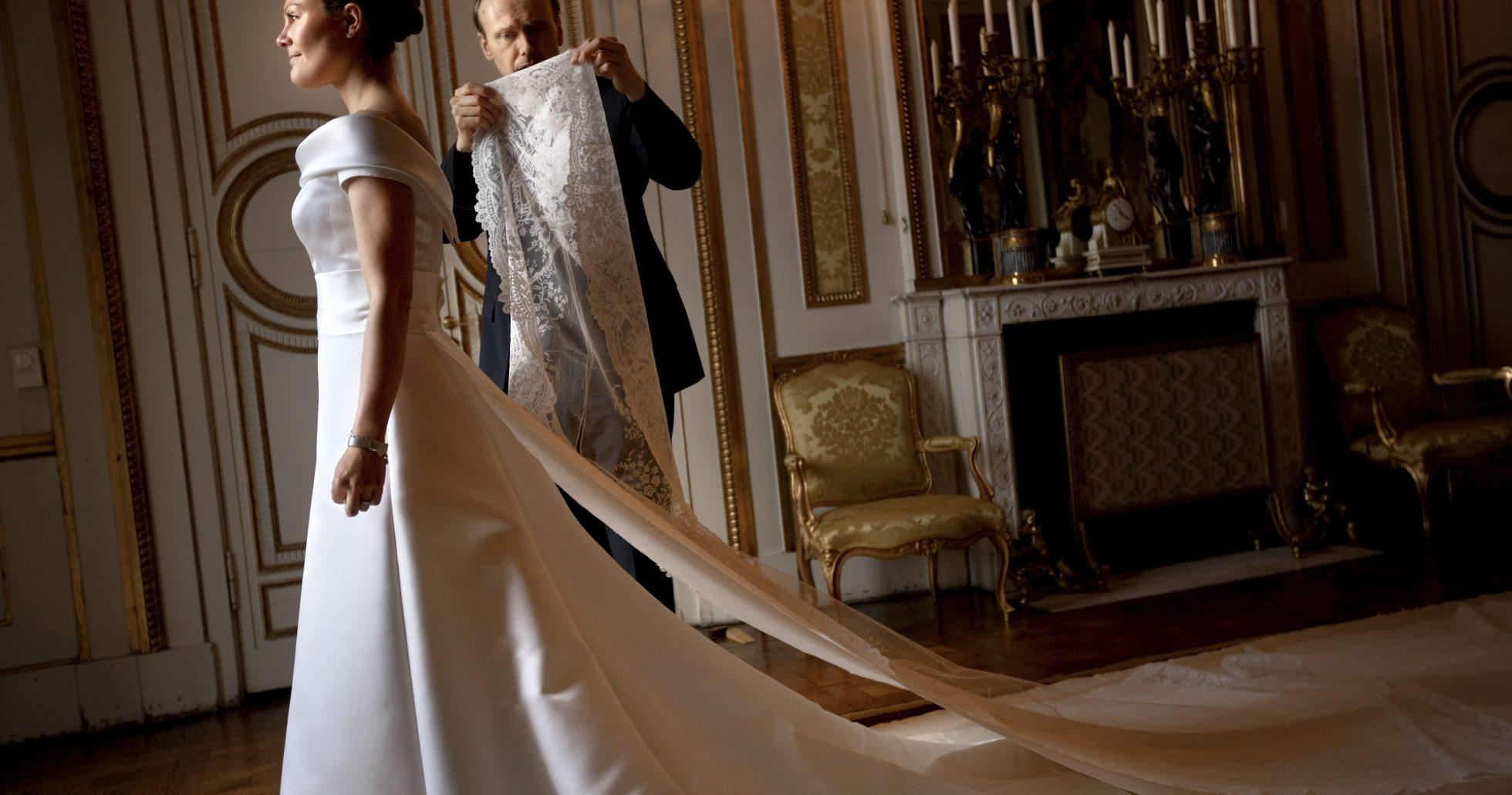 Prinsessornas ikoniska bröllopsklänningar