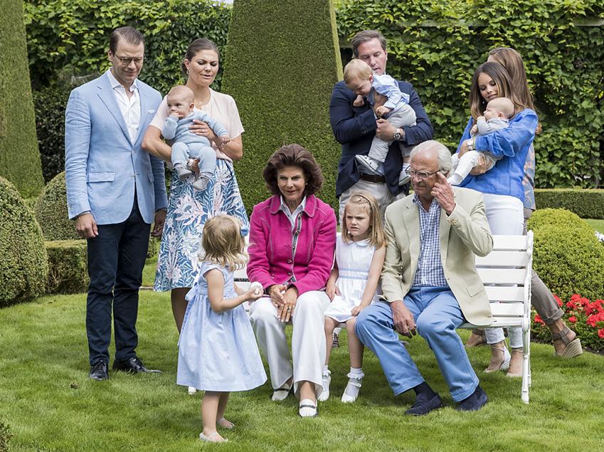 Victorias stora 40-årsparty, Estelles underbara 5-årskalas och den hemliga kusinträffen - Kungafamiljens fantastiska festår 2017