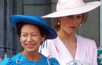 Prinsessan Margaret brände upp Dianas avslöjande brev