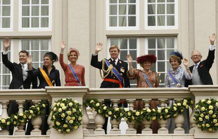 Pompa och ståt <br> på Prinsens Dag!