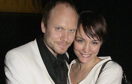 Carina Berg och Kristian Luuk har fått en pojke!