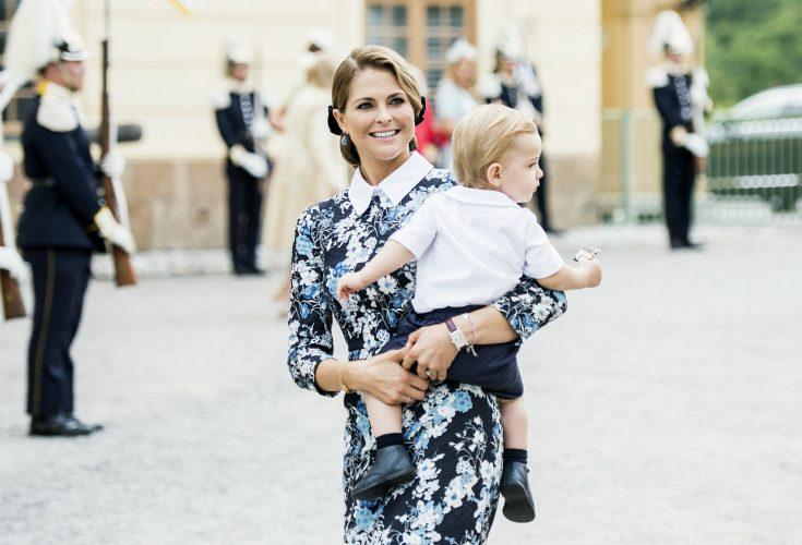 Ny exklusiv bild! Madeleines vanliga vardagsmorgon i London - så tillbringar hon dagarna med familjen