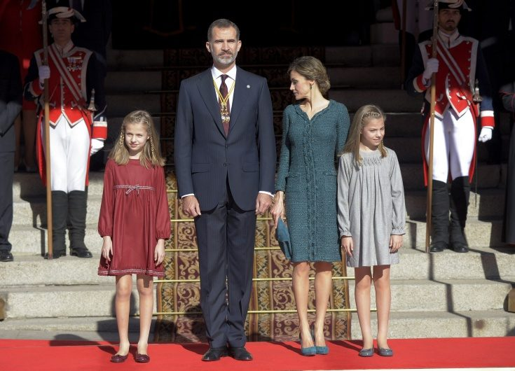 Stort bildspel! Nya foton på den spanska kungafamiljen