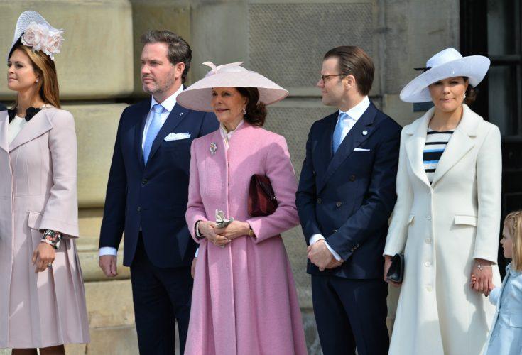 Här kan du se kungafamiljen i dag