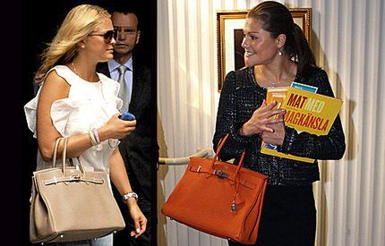 Även prinsessan Madeleine väljer Birkin...