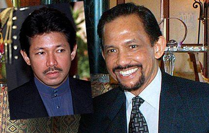 Sultanen av Brunei <br>förlåter sin bror Jefri