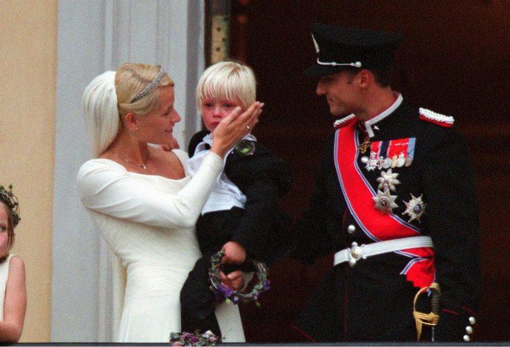 Kronprinsessan Mette-Marit och Marius