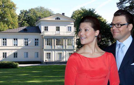 Victorias och Daniels Haga slott är nu inflyttningsklart
