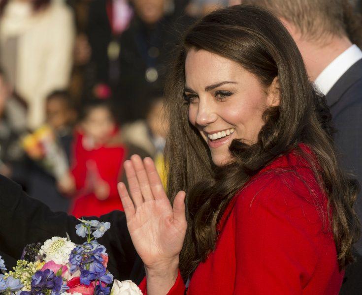 Här visar Kate vem som är populärast i familjen