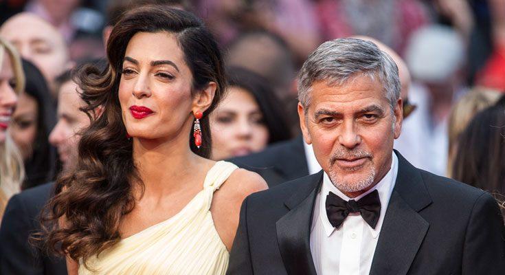 George Clooney och Amal väntar tvillingar!