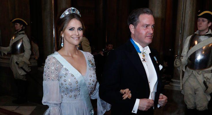 Madeleine i ny klänning – se bilderna från banketten!