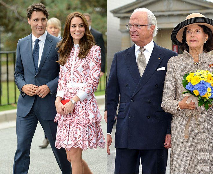 Därför bjöd kungen inte in Trudeau