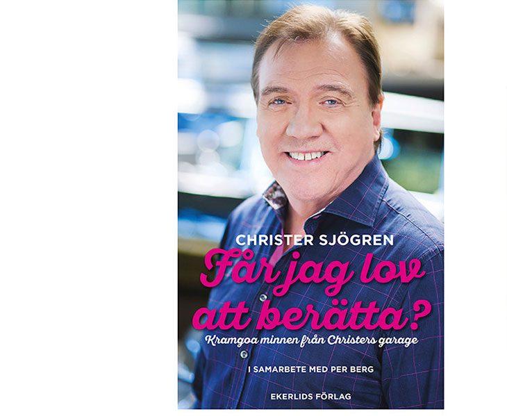 Vi lottar ut Christer Sjögrens bok