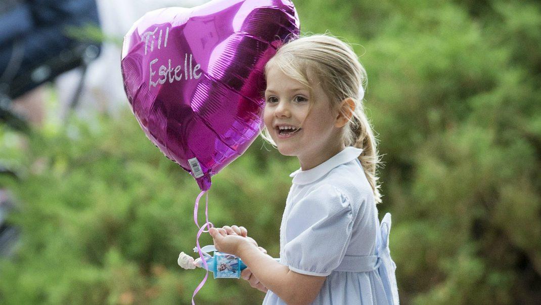 Gulliga gåvan till Estelle på femårsdagen – se bilden!