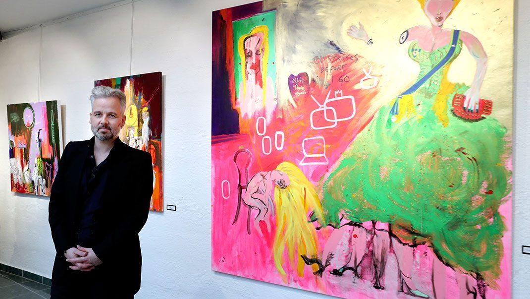 Ari Behn släpper konst inspirerad av livet med Märtha Louise