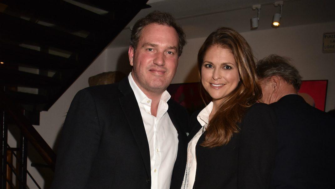 Madeleines och Chris romantiska festkväll i London
