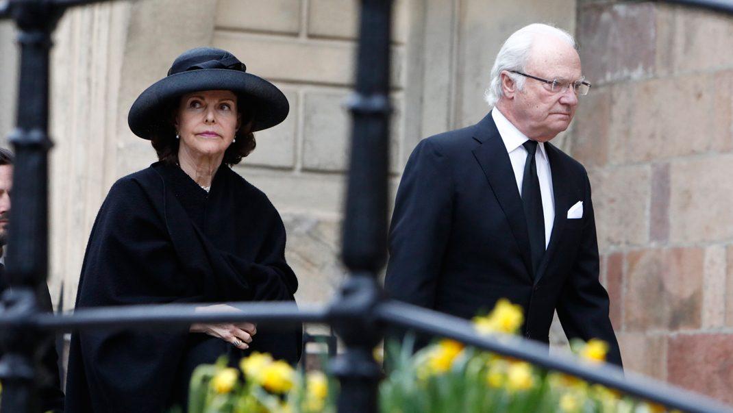 Prinsessan Sofia missar begravningen