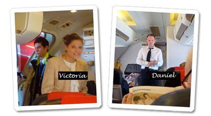 Daniel Nyhlén på samma flight till Monaco som Victoria