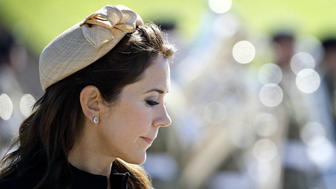 Kronprinsessan Mary i sorg - så tog hon farväl av trofasta vännen