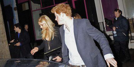 Första bilderna på prins Harry och Chelsy tillsammans efter deras försoning...