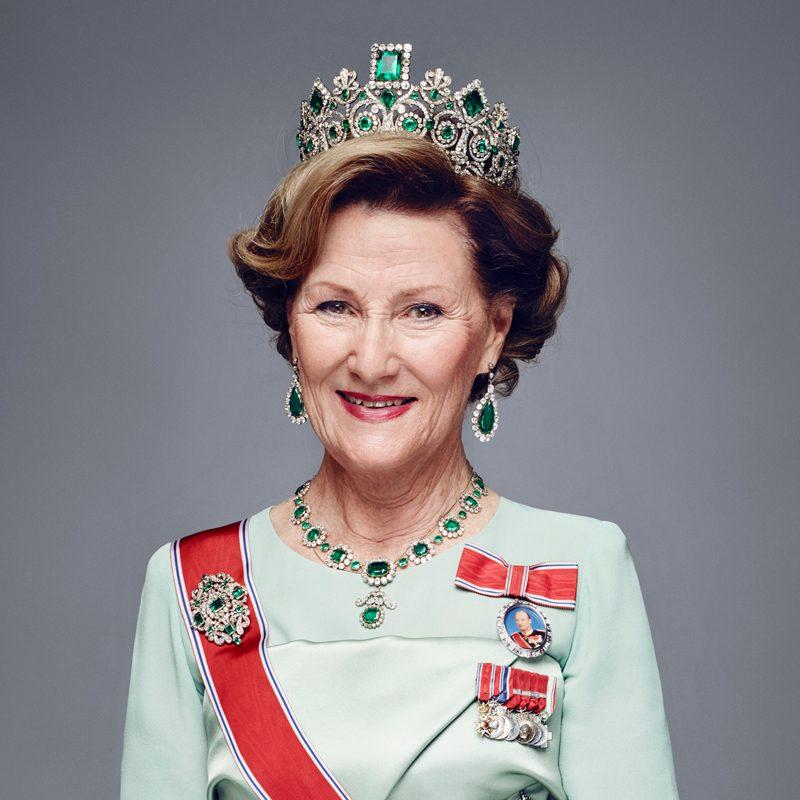 Drottning Sonja av Norge fyller år idag!