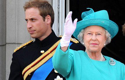 Prins William tar över efter drottning Elizabeth