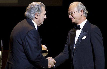 Placido Domingo fick en miljon dollar av kungen