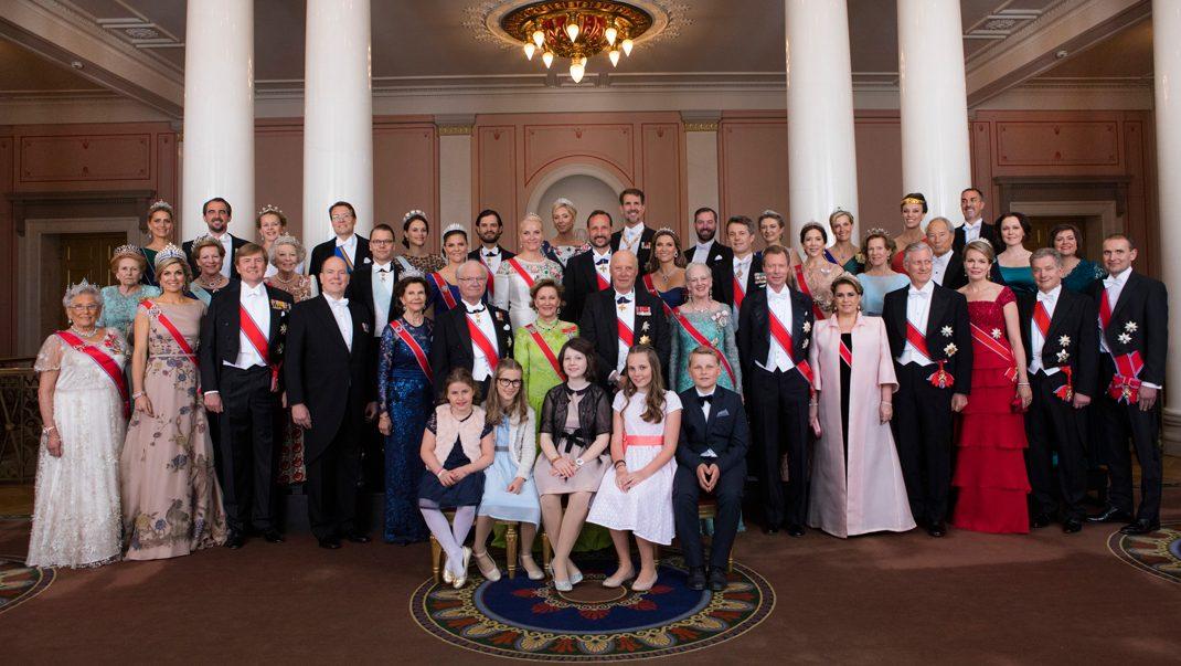 Se historiska gruppbilden från Oslofesten