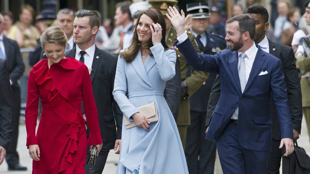 Så var Kates ensamresa i Luxemburg