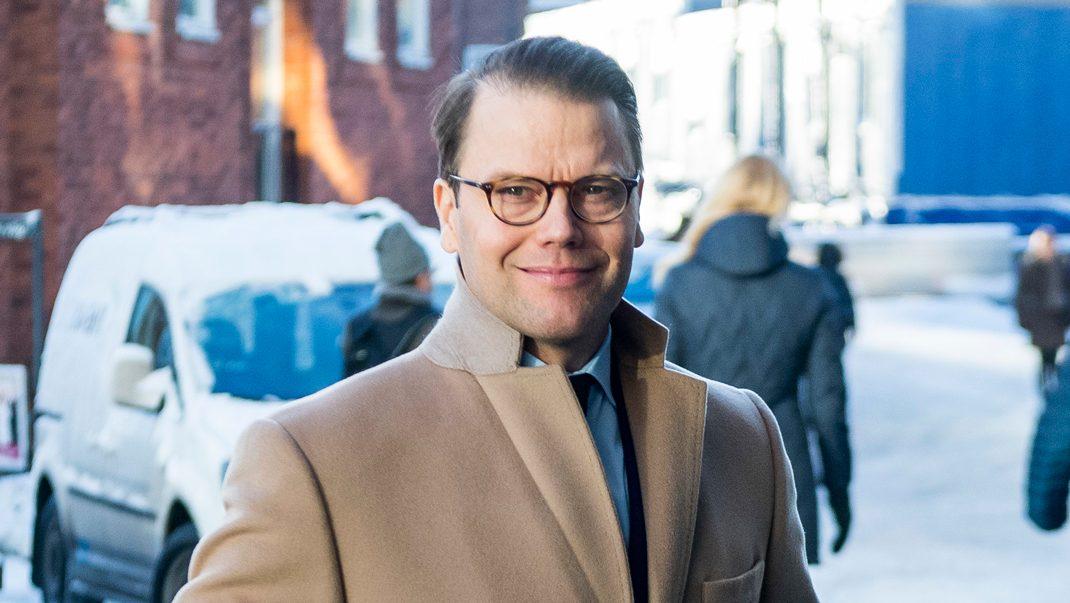 Prins Daniel besöker center för krigsskadade och torterade i Malmö