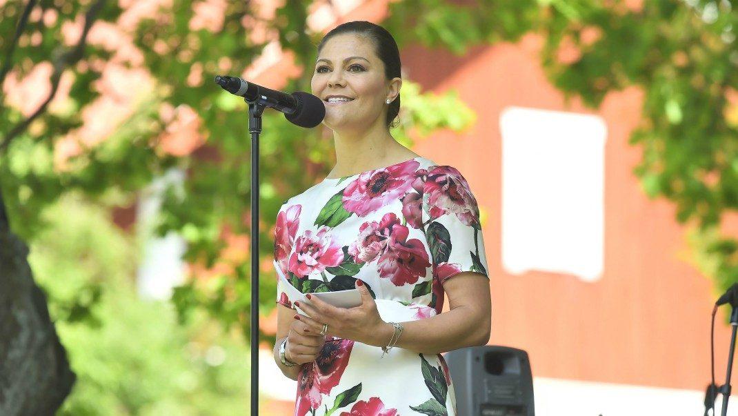 Kronprinsessans hyllning till svenska folket: