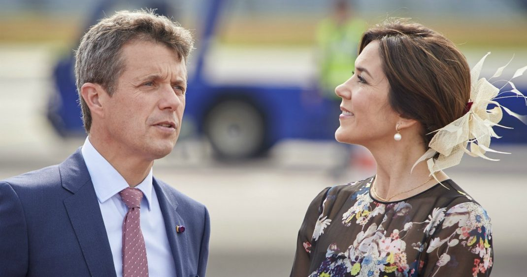 Danska kronprinsen får spännande besök