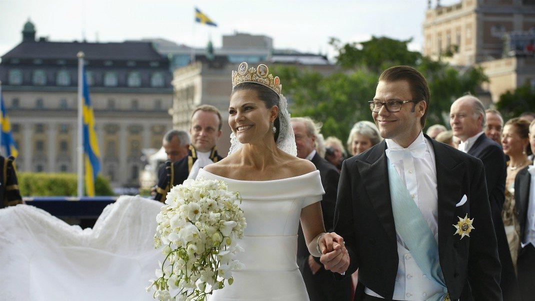 Bildspecial! 13 underbara bilder från Victorias och Daniels bröllop