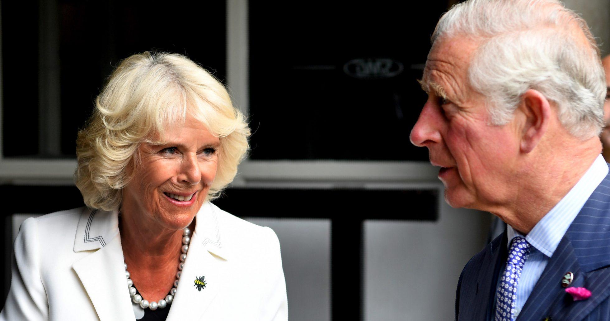 Camilla var vettskrämd på bröllopsdagen