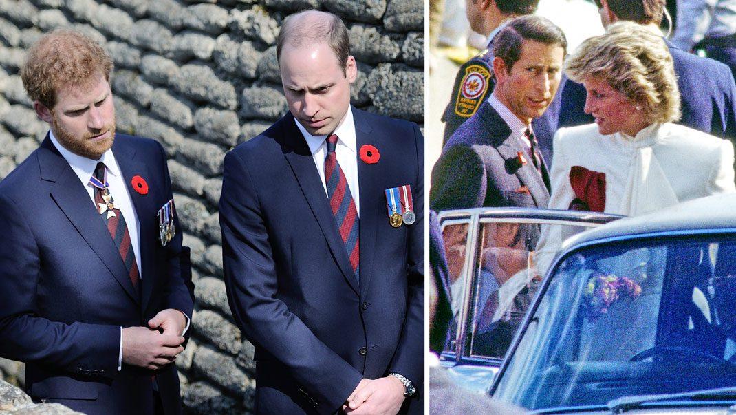 William och Harry i en ny intervju om Dianas död
