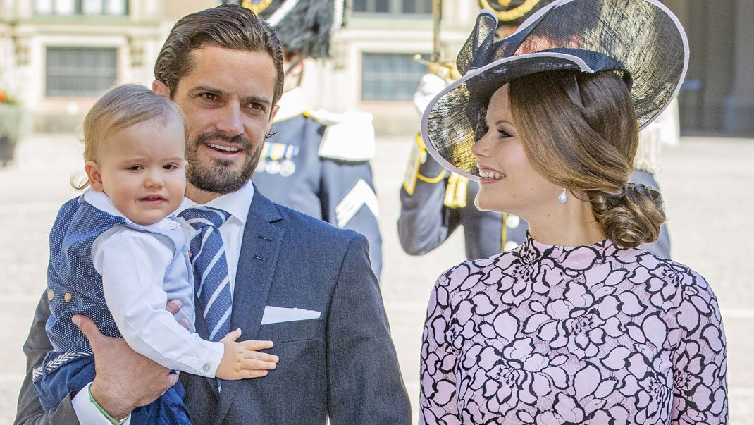 Se nya bilden på prinsessan Sofia och Alexander