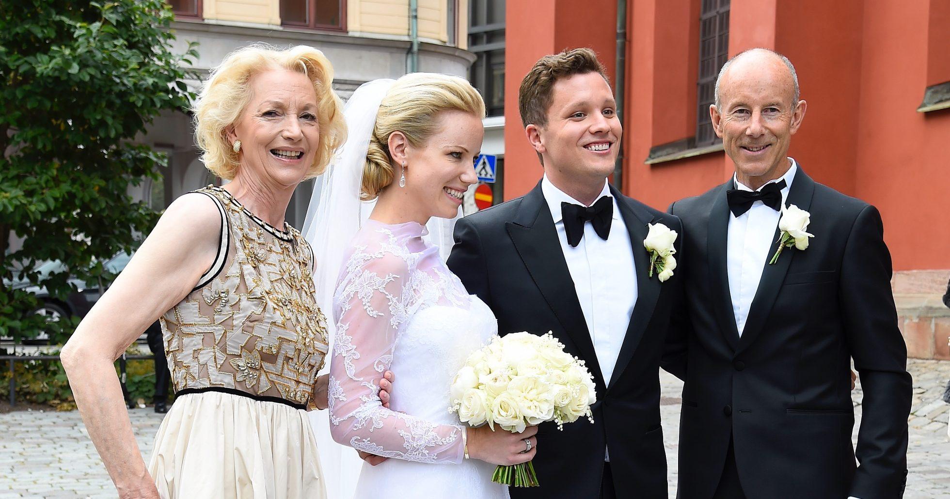 Bröllopsyra när Ingemar Stenmarks dotter gifte sig!