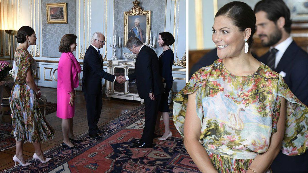 Kunglig lunch på slottet - se nya bilderna på Victoria