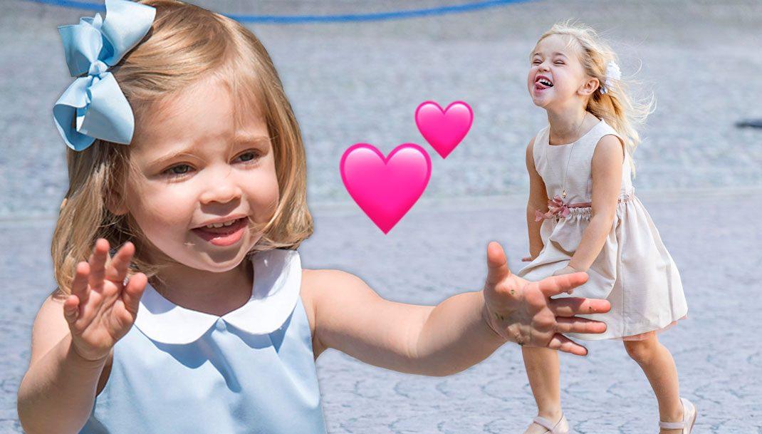 41 roliga ögonblick med prinsessan Leonore