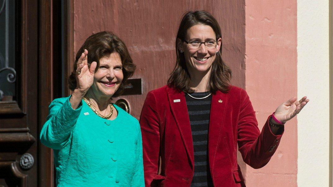 Silvias kära återseende med tyska släktingarna